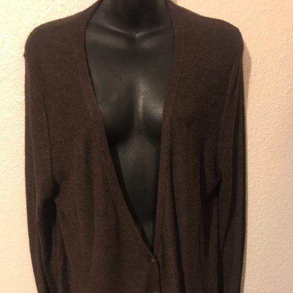 Mossimo Supply Co. Sweaters - Dark brown cardigan sweater